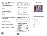 Penguin Chick Comprehension Tri-fold: Journeys Grade 2; Lesson 21