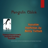 Penguin Chick Interactive Vocabulary Power Point (Journeys