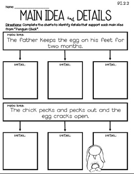 Penguin Chick (Journeys 2nd Grade - Supplemental Materials)