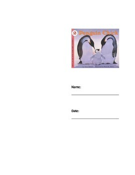 Penguin Chick Seatwork/Centerwork Packet