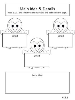 Penguin Chick Supplemental Materials for Journey's Unit 5 Lesson 21
