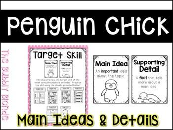 Penguin Chick Unit 5, Lesson 21 Journeys Print & Go