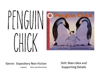 Penguin Chick Vocabulary Chart Cards