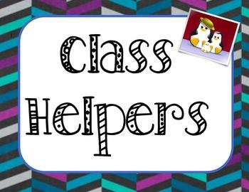 Penguin Class Helpers Bulletin Board