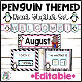 Penguin Classroom Decor