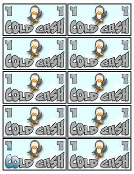 Penguin Classroom Money