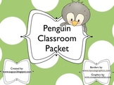 Penguin Classroom Packet