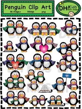 Penguin Clip Art