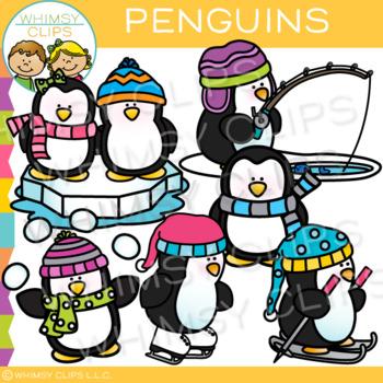 Penguin Clip Art { Winter Clip Art }