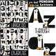 Penguin Clip Art BUNDLE- Letters, Numbers, & Shapes {jen hart Clip Art}