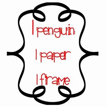 Penguin Clip Art ~ Mini-Kit Graphics ~ Christmas FREEBIE