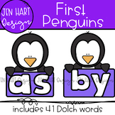 "Penguin Clipart - Dolch Sight Word Clip Art ""FIRST"" {Jen H"