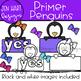 "Penguin Clipart - Dolch Sight Word Clip Art ""PRIMER"" {Jen Hart Clipart}"