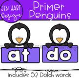 "Penguin Clipart - Dolch Sight Word Clip Art ""PRIMER"" {Jen"