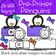 "Penguin Clipart - Dolch Sight Word Clip Art ""PRE-PRIMER"" {Jen Hart Clipart}"