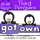 "Penguin Clipart - Dolch Sight Word Clip Art ""THIRD"" {Jen H"