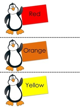 Penguin Color Practice