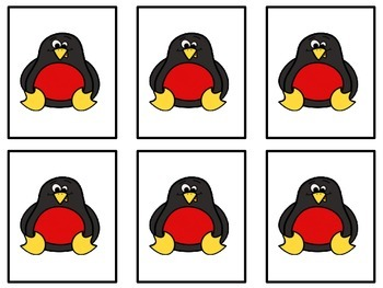 Penguin Color Sorting Mats