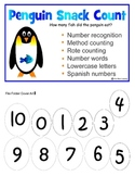 Penguin Counting 0-10 File Folder Game