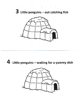 Penguin Counting Book