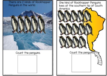 Counting 1-20  Interactive Books PENGUIN EDITION 1