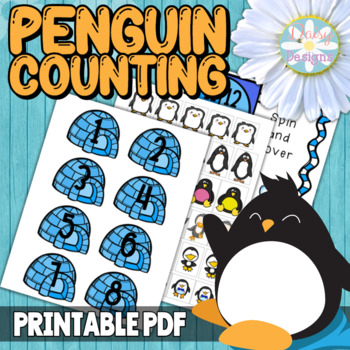 Numbers 1-20 - Penguin Counting
