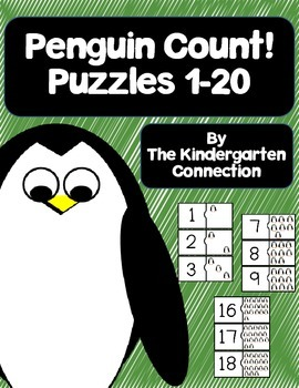 Penguin Counting Puzzles (Free)