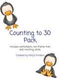 Penguin Counting to 30