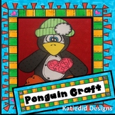 Penguin Craft, January Craft, Winter Craft