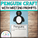 Penguin Craft With Writing Prompts/Pages
