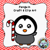 Penguin Craft and Clip Art