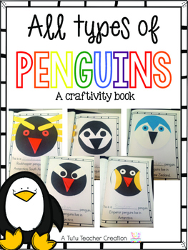 Penguin Craftivity Book