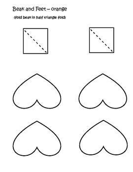 Penguin Craftivity Shape Book