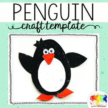 Penguin Craft Template By Keeping Life Creative Tpt