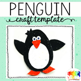 Penguin Craftivity Template