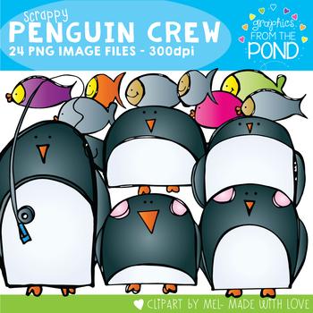 Penguin Crew - Scrappy Clipart