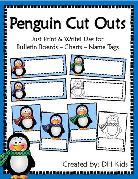 Penguin Cut Outs