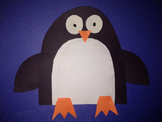 Penguin Cut and Paste Craftivity