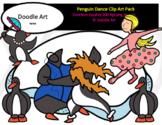 Penguin Dance Clip Art Pack