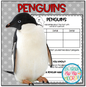Penguins!!  Crafts, Informational Text, Snacks