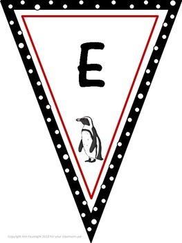 Penguin Decor Pennants