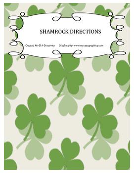 Shamrock Directions