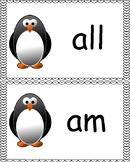 Penguin Dolch Kindergarten Site Words