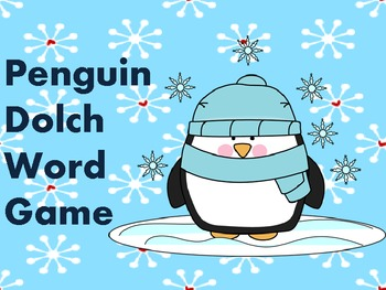 Penguin Dolch Word Game