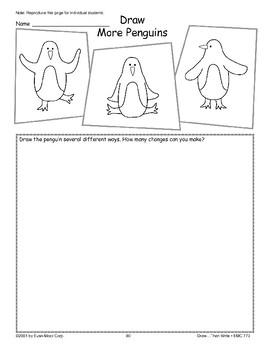 Penguin (Draw Then Write)