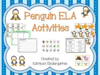 Penguin ELA Activities