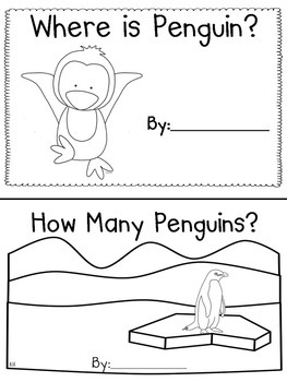 Penguins Emergent Readers