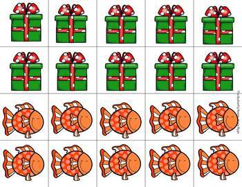 Penguin Elves- Letters and Numbers Games for the Holidays