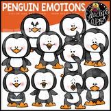 Penguin Emotions Clip Art Set {Educlips Clipart}