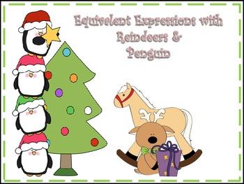 Equivalent Expressions Penguins!